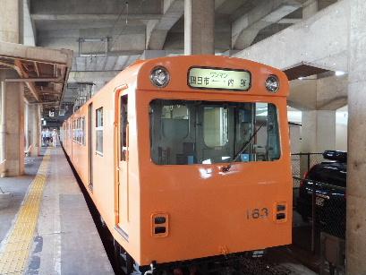 130728日永追分から東海道を歩く01、近鉄四日市駅内部線.JPG