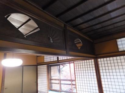 141123昭和美術館⑩、扇面透しの欄間 (コピー).JPG
