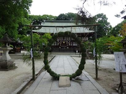 150627今宮神社④、茅の輪 (コピー).JPG