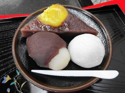 150925長五郎餅本舗④、長五郎餅、月見団子、栗蒸し羊羹 (コピー).JPG