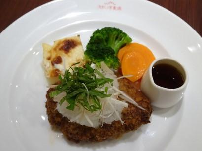160815文化洋食店③、和風おろしハンバーグ (コピー).JPG