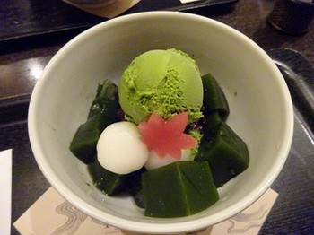 161116京都イオリカフェ⑤、抹茶ゼリー (コピー).JPG