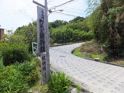 130702四日市の和菓子屋めぐり23、杖衝坂(上り).JPG