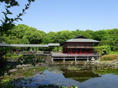 150520白鳥庭園茶室「清羽亭」②、離れ席(立礼席) (コピー).JPG